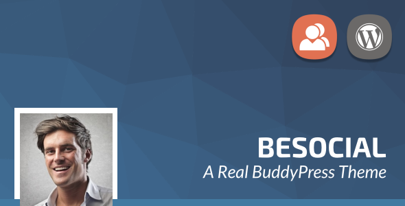 Besocial - BuddyPress Social Network & Community WordPress Theme