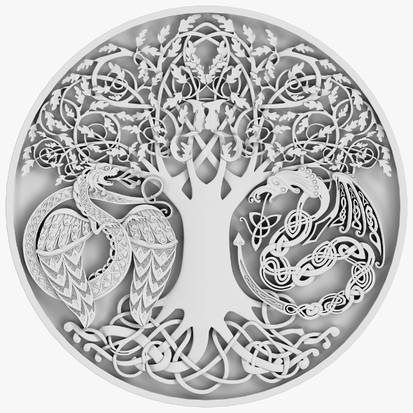 Celtic Ornament 09 - 3DOcean Item for Sale