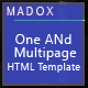 Madox - One and Multipage HTML Template