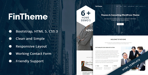 Download Fintheme - Finance HTML Template - For Finance & Consultants