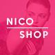 NicoShop – Ecommerce PSD Tempate: