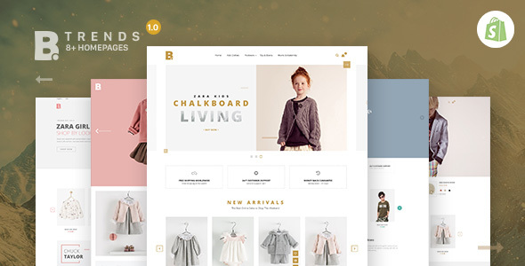 Shopify Theme - Btrend - Drag And Drop Responsive Bootstrap