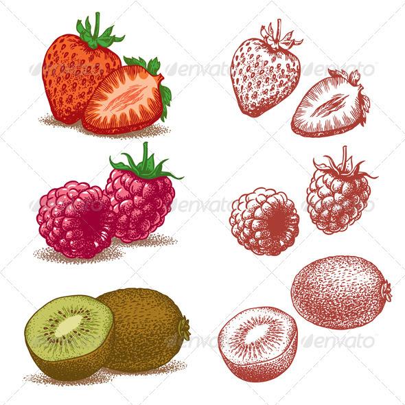 Strawberry Raspberry Kiwi