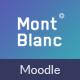 MontBlanc - Responsive Moodle Theme