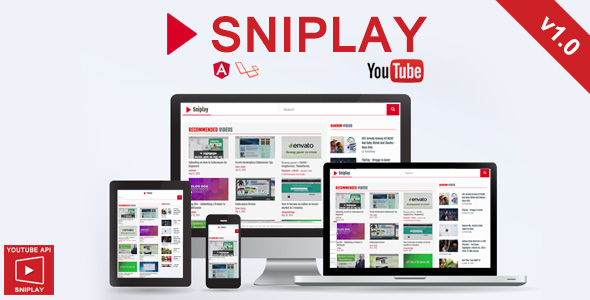 Sniplay - Watch Video Online : Youtube API
