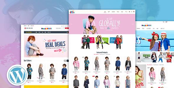 HappyChild - Multi Store Responsive WordPress Theme