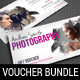 3 in 1 Photography Studio Gift Voucher Bundle 04