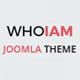 WHOIAM Lightweight Portfolio Responsive Joomla Template