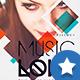 Minimal Music Love Flyer