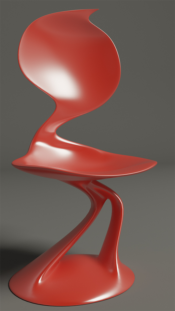3DOcean Smooth chair 19633065