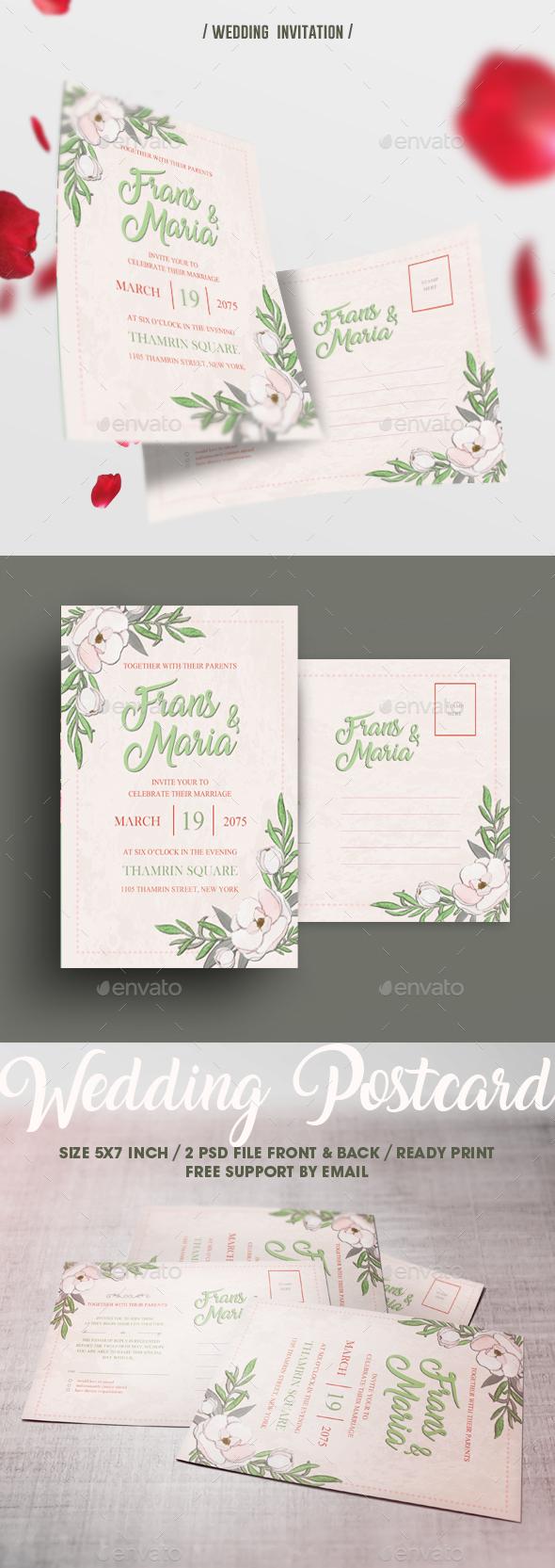 Simple Wedding Invitation