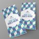 Simple Minimal Tri-Fold Brochure