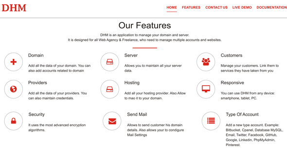 Domain Hosting Management