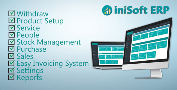 iniSoft ERP ( Business Inventory Management  System )
