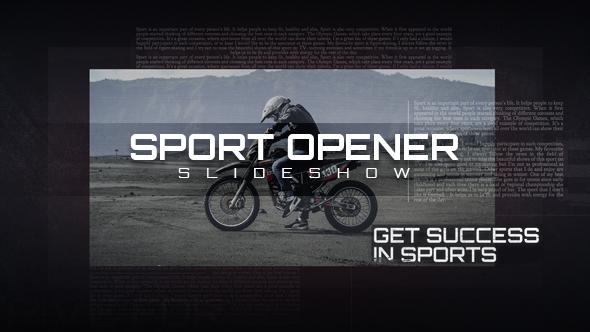 Sport Opener Slideshow