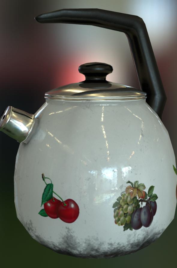 Kettle - 3DOcean Item for Sale