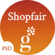 Shopfair - eCommerce PSD Template
