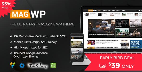 Magazine WordPress Theme | Mag WP (Personal) images