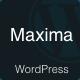 Maxima - Minimal Blog & Magazine WordPress Theme