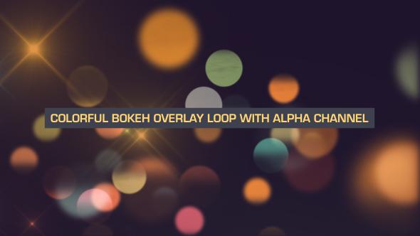 VideoHive Colorful Bokeh Flow Loop 19647563