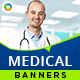 HTML5 Medical Banners - GWD - 7 Sizes(NF-CC-163)