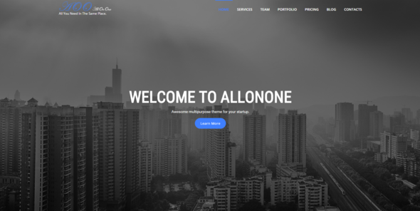 All On One | Multi-purpose One Page Html5 Template