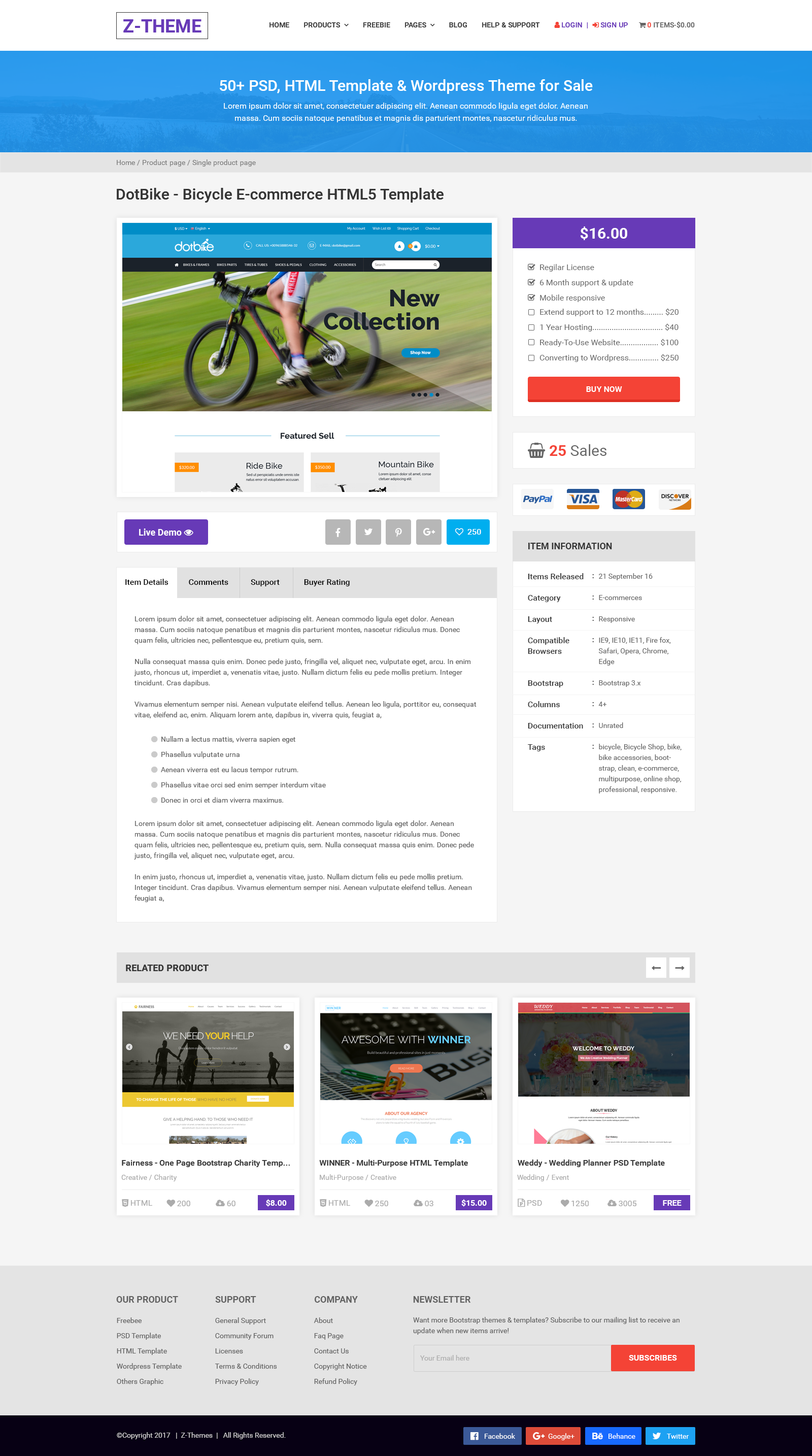 z theme digital store and marketplace psd template by dot themes z theme digital store and marketplace psd template