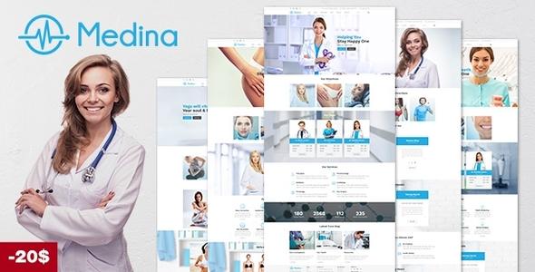 Medical   Medina Medical WordPressTheme