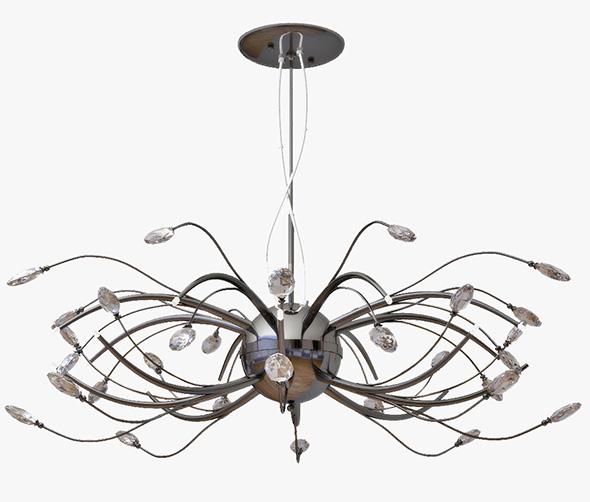 3DOcean chandelier LIGHTSTAR Isabelle 747167 19650363