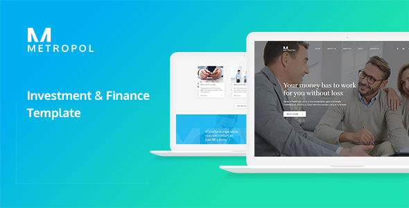 Metropol - Investment & Finance HTML Template