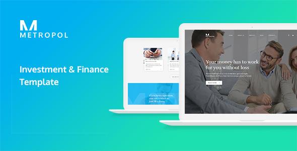 Metropol - Investment & Finance HTML Template