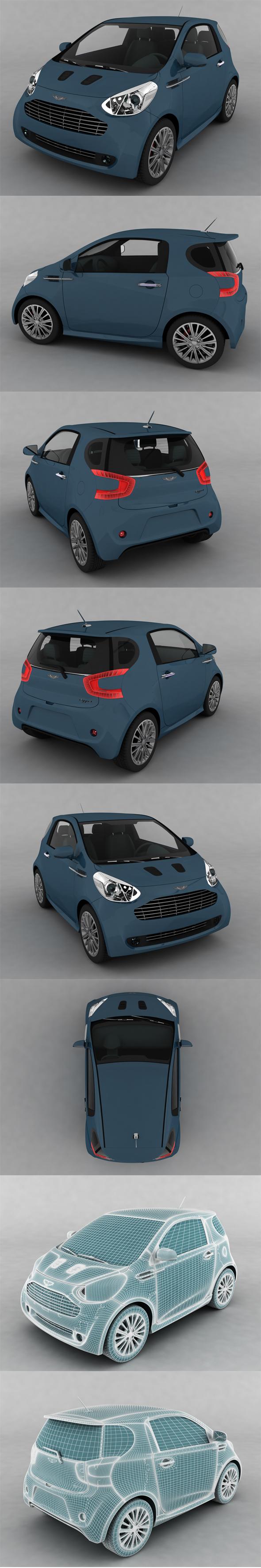 Aston Martin Cygnet - 3DOcean Item for Sale