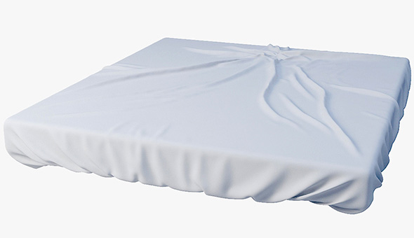 bed sheet - 3DOcean Item for Sale