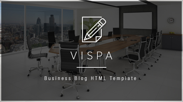 Vispa - Corporate & Business for Startups HTML Template