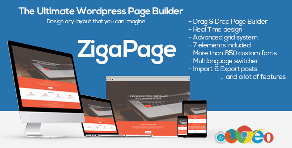 ZigaPage – WordPress Page Builder