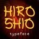 HIROSHIO Typeface