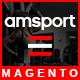 AMSport - Sport Store Responsive Magento Theme