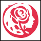 Rose Face Logo