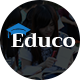 Educo - Elearning, Education Bootstrap Html Template