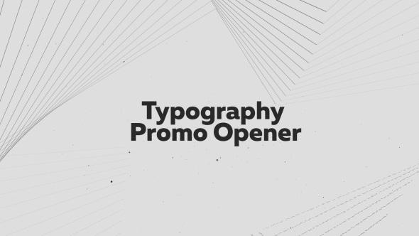 Videohive Typography Promo Opener 19653884