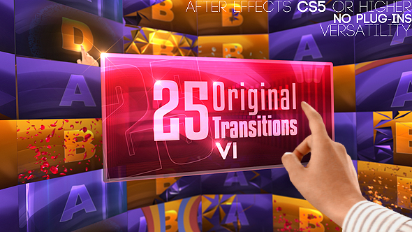 VideoHive Transitions 19615155