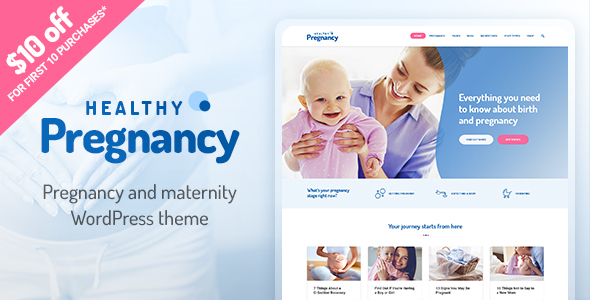Healthier Pregnancy – Overall health &amp Healthcare WordPress Theme (Overall health &amp Beauty)