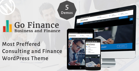 Download Go Finance - Consultant - Business & Finance & Corporate Services Theme