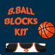Basketball Brick Breaking Game Kit