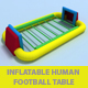 Inflatable Human Football Table