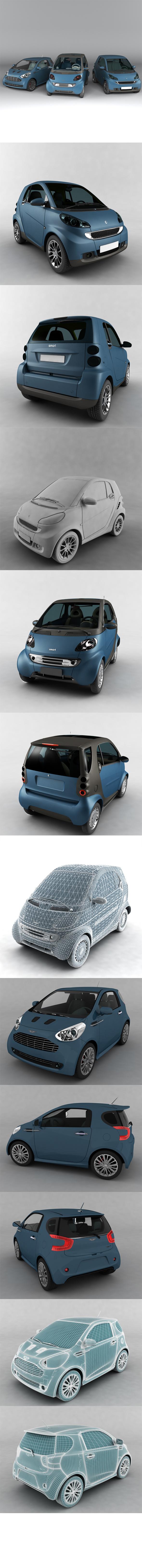 3DOcean Complete Vehicle Pack 4 19655444