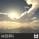 High Resolution Sky HDRi Map 018