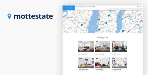 Themeforest Mottestate - Real Estate HTML Template 19655984