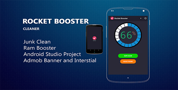 CodeCanyon Rocket-Booster with Admob 19656083