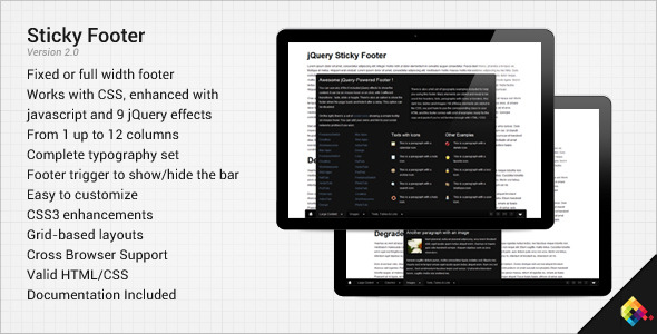 CodeCanyon Sticky Footer 168476